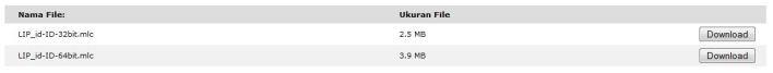 Screenshot Paket Bahasa W7
