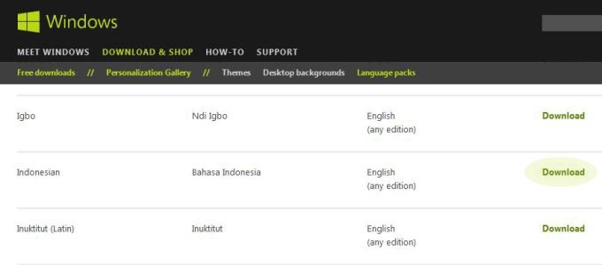Windows 7 Bahasa Indonesia